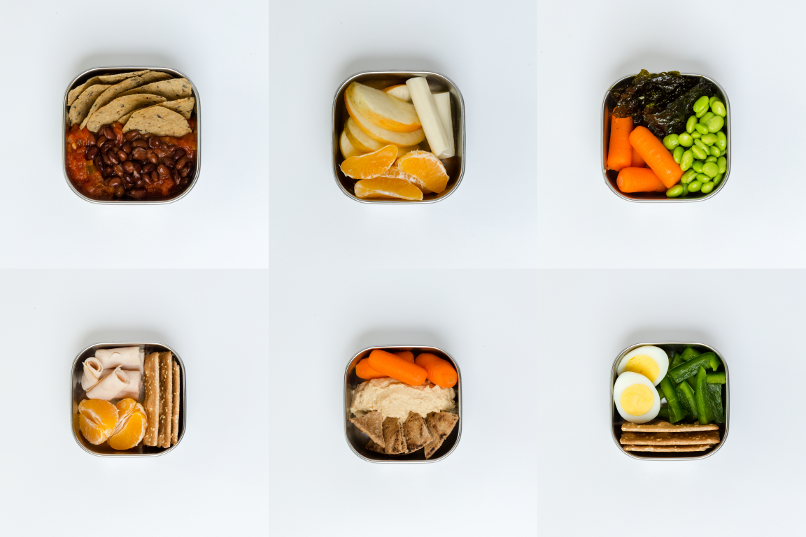 Healthy snacks can look like mini meals